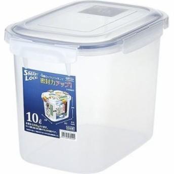 岩崎工業 4901126289224 保存容器 ロック式ジャンボケース B2892N 10L