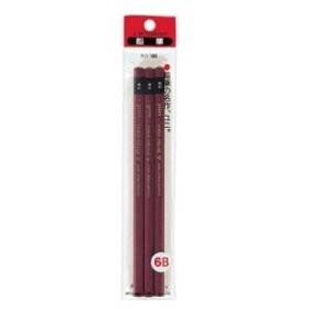 三菱鉛筆 ユニ 6B 3本パック