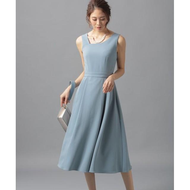 Andemiu アシメネックドレス