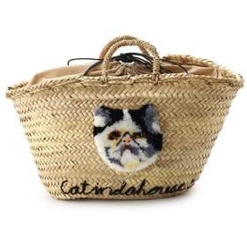 aquagirl / アクアガール 【WEB限定】CAT IN DA HOUSE! キャットフェイスかごバッグ