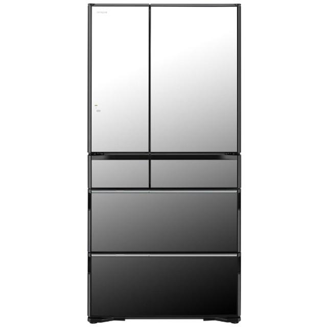 R-WX74K-X 冷蔵庫 クリスタルミラー [6ドア /観音開きタイプ /735L]