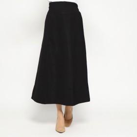スタイルブロック STYLEBLOCK ジャージーツイルロングスカート (ブラック)