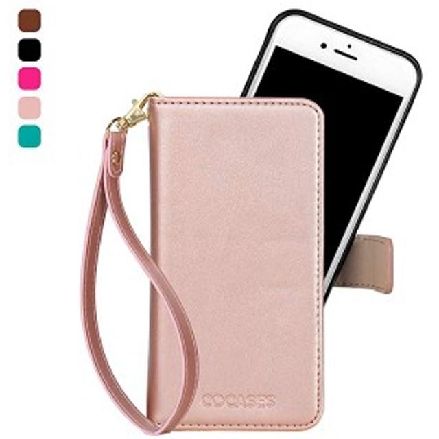5dfc8da670 iPhoneSE ケース PUレザー 手帳型 iPhone5s iPhone5 カバー マグネット式 取り外し可能 スタンド機能 カード