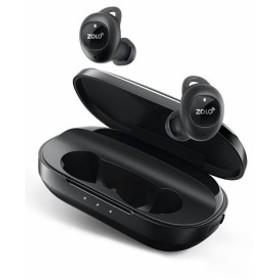 Zolo Liberty+ (Bluetooth 5.0 完全ワイヤレスイヤホン) 【最大48時間音楽再生 】(ブラック)色: ブラック