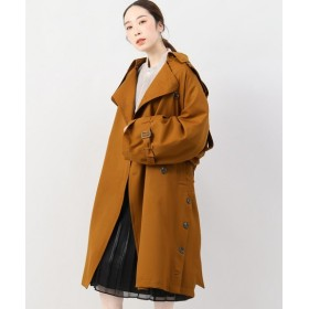 BOICE FROM BAYCREW'S KANIZSA Trench coat ブラウン フリー