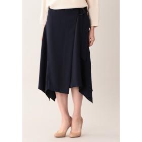 AMACA セラテリー スカート ロング・マキシ丈スカート,ネイビー