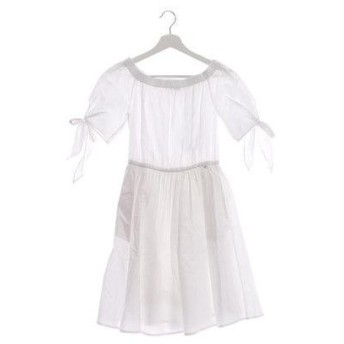 ゲス GUESS CONSUELO DRESS (TRUE WHITE)