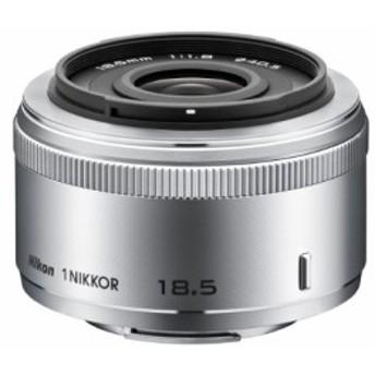 Nikon 単焦点レンズ 1 NIKKOR 18.5mm f/1.8 シルバー ニコンCXフォーマット(中古品)