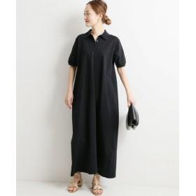 VERMEIL par iena SLOANE SOILD ワンピース◆ ブラック XS