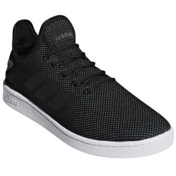 [adidas]アディダス メンズカジュアルシューズ COURTADAPT2.0 M (F36418) コアブラック/コアブラック/グレーシックスS19[取寄商品]