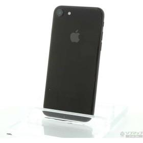 〔中古〕Apple(アップル) iPhone7 256GB ジェットブラック MNCV2J/A auロック解除SIMフリー