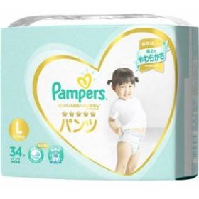 P&G(プロクター・アンド・ギャンブル) 4902430679374 パンパース おむつ はじめての肌へのいちばん パンツ スーパージャンボ L 34枚入