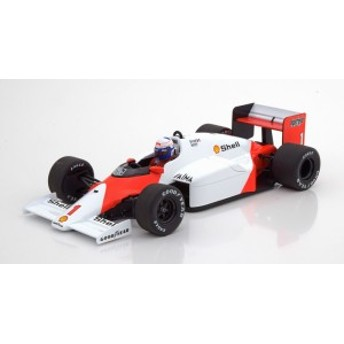 Minichamps ミニチャンプス 1/18 ミニカー ダイキャストモデル 1986年シーズン マクラーレン F1 MP4/2C 「Marlboro」デカール付き