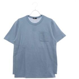 イグニオ IGNIO メンズ 半袖Tシャツ BIGワッフルTシャツ(半袖) MBIGワッフルポケTSS