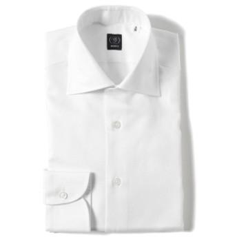 BEAMS F / ロイヤルオックスフォード ワイドカラーシャツ メンズ ドレスシャツ WHITE/1W 41
