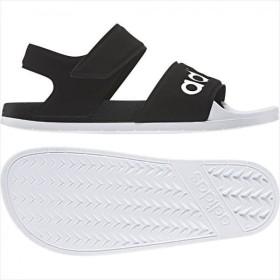 [adidas]アディダス スポーツサンダル ADILETTE SANDAL (F35416) コアブラック/ランニングホワイト/コアブラック[取寄商品]
