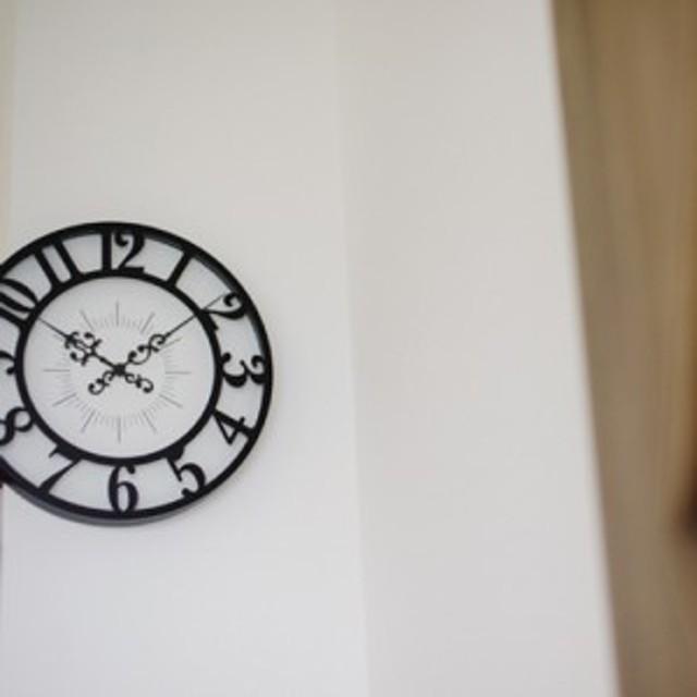 おしゃれな掛け時計 ジゼル インターフォルム CL-4960 / レトロな壁掛け時計 / シンプル / クラシック