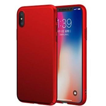 iPhone Xs ケース iphone X ケース ハードケース 高品質PC 超薄 軽量 耐衝撃 一体型 落下防止 スクラッチ防止 指紋防止 ストラッ...