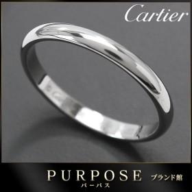 カルティエ Cartier クラシック #56 リング Pt950 幅2.5mm プラチナ 指輪 【証明書付き】