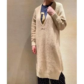 journal standard luxe 【unfil/ アンフィル】 ribbed-knit dress◆ ベージュ 1