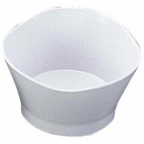 EBM-2454700 メラミン給食用食器 小鉢 三ツ葉 77 白 (EBM2454700)