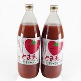 「無塩」田原産カンパリトマト100%トマトジュース(1000ml×2本)