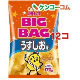 カルビー ポテトチップス ビッグバッグ うすしお味 ( 170g12コセット )/ カルビー ポテトチップス