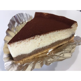 ティラミス風&プレーンチーズケーキ ハーフハーフ