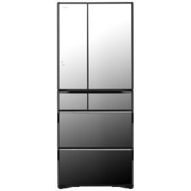 R-WX62K-X 冷蔵庫 クリスタルミラー [6ドア /観音開きタイプ /615L]