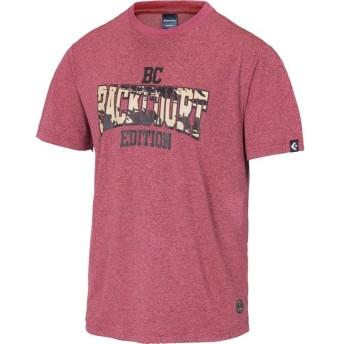 CONVERSE(コンバース) 【バスケットボール】 バックコート Tシャツ 裾ラウンド メンズ CBE281317 チェリ