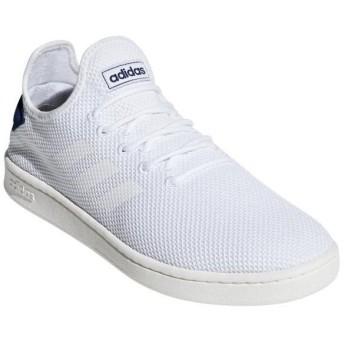 [adidas]アディダス メンズカジュアルシューズ COURTADAPT2.0 U (F36416) ランニングホワイト/ランニングホワイト/ダークブルー[取寄商品]