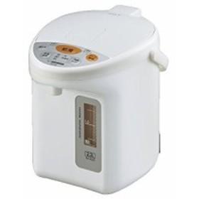 象印 電動ポット2.2L ホワイト CD-XC22-WA(中古品)