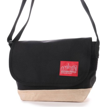 マンハッタンポーテージ Manhattan Portage Suede Fabric Casual Messenger (Black)
