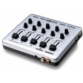 audio-technica マルチポータブルミキサー AT-PMX5P(中古品)