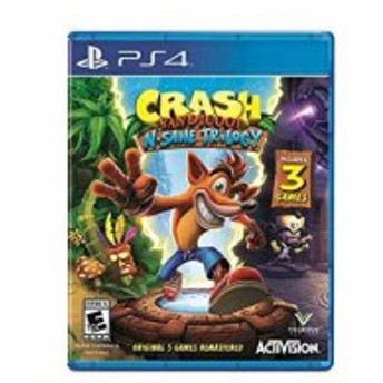 Crash Bandicoot N. Sane Trilogy 輸入版:北米 - PS4[88080](PlayStation 4)