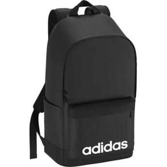 [adidas]アディダス リニアロゴバックパック (FSX25)(DT8638) ブラック/ブラック/ホワイト[取寄商品]