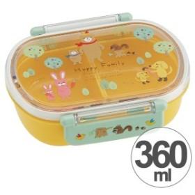 お弁当箱 小判型 ハッピーファミリー 360ml 子供用 キャラクター ( 弁当箱 ランチボックス プラスチック 子供用お弁当箱 タイトラ