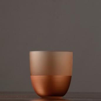 ツートーンガラスフラワーベースシリーズ1 ブラウン<インテリア/おしゃれ/北欧/花瓶/ガラス/オブジェ/花器/フラワーベース>