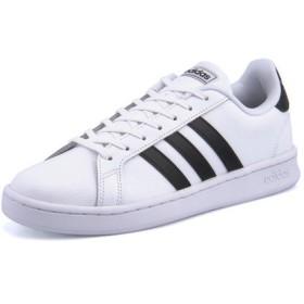 adidas(アディダス) GRANDCOURT LEA U(グランドコートレザーU) F36392 ランニングホワイト/コアブラック/ランニングホワイト【レディース】 スニーカー ローカット