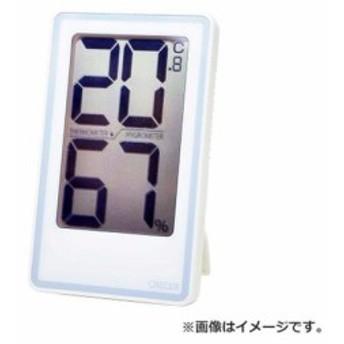 【メール便可】CRECER でか文字デジタル温湿度計 CR-2000W [r13][s1-000]