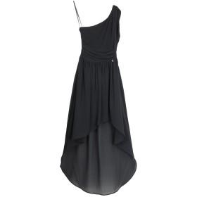 《セール開催中》KORALLINE レディース ロングワンピース&ドレス ブラック 44 ポリエステル 100%