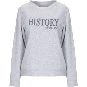 《期間限定セール中》HISTORY REPEATS レディース スウェットシャツ グレー S コットン 100%