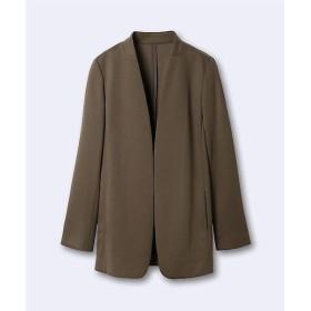 INED / イネド 《INED international collection》トリアセコットンツイルロングジャケット