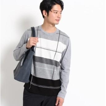 [マルイ]【セール】前身ニットTシャツ/ザ ショップ ティーケー(メンズ)(THE SHOP TK Mens)