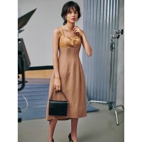 [LAGUNAMOON]LADYウェーブカッティングコクーンドレス