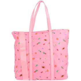 《期間限定セール開催中!》COCCINELLE レディース ハンドバッグ ピンク 紡績繊維 / 革
