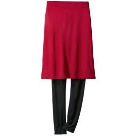 レギンス付デザインスカート (大きいサイズレディース)スカート, plus size, Skirts, 裙子