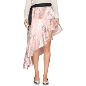 《9/20まで! 限定セール開催中》MARQUES' ALMEIDA レディース ミニスカート ピンク 6 コットン 46% / ポリエステル 42% / 指定外繊維 12% / 金属繊維