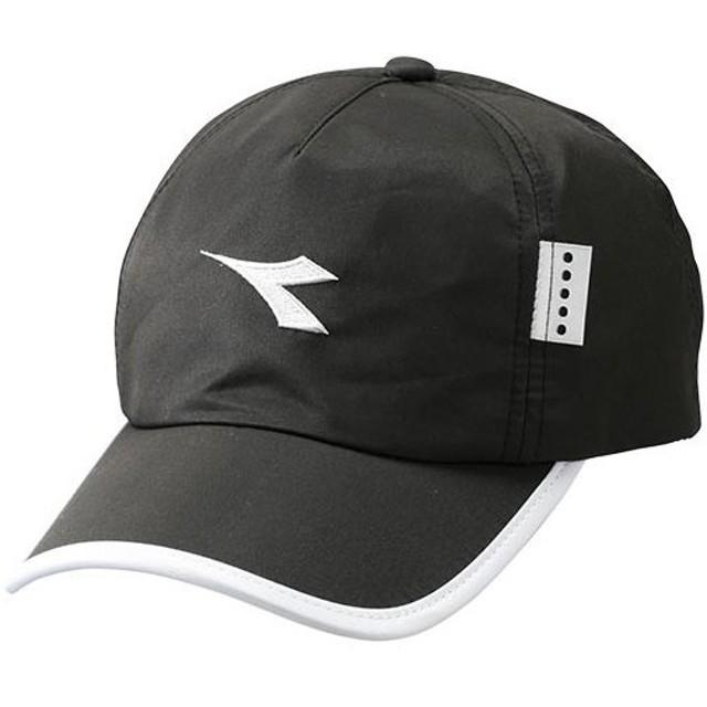 ディアドラ(diadora) メンズ レディース テニス用品 キャップ フリーサイズ ブラック DTA9733 99 テニス キャップ 帽子 アクセサリー