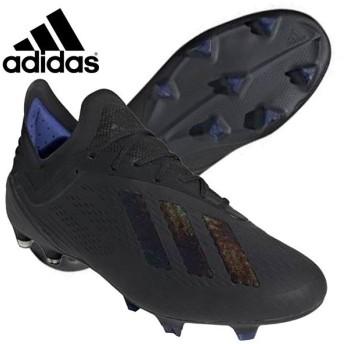 アディダス adidas エックス 18.1 FG/AG BB9346 サッカー スパイク 天然芝 ロングパイル人工芝 専用 トップモデル プロ仕様 ブラック 黒 2019年春夏